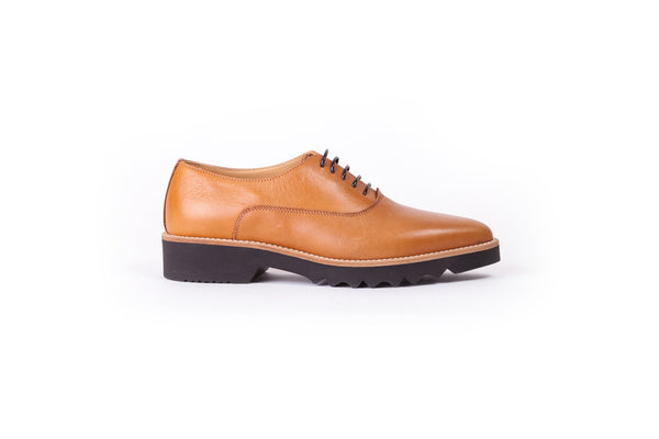 Women's Tan Lace up Ex- 301 (2017)