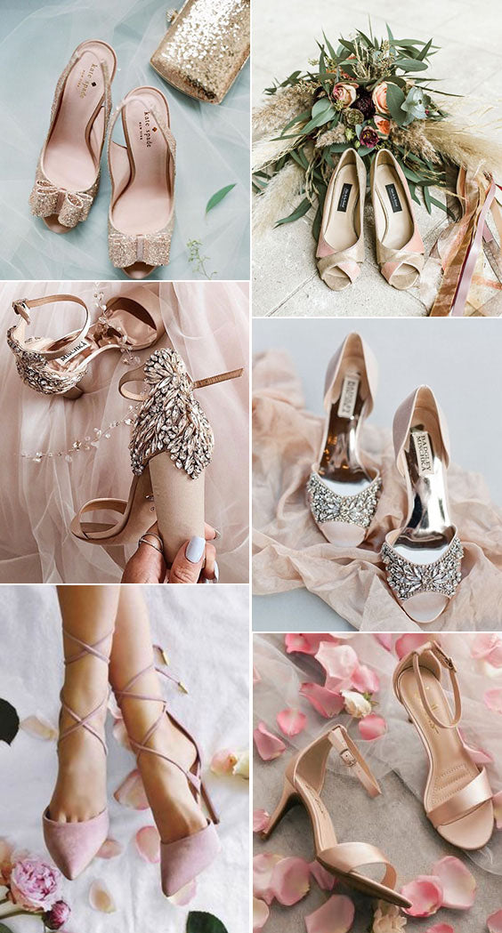 6 Wedding Shoe Color Trends for Stylish Brides