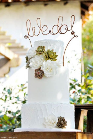 Succulent Wedding Cake Inspiration That Wow