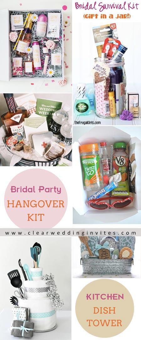 Party favors are a great way to welcome your guests to the shower.
