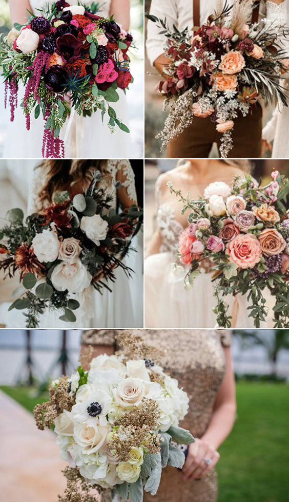 15 PERFECT FALL WEDDING BOUQUET IDEAS FOR Brides
