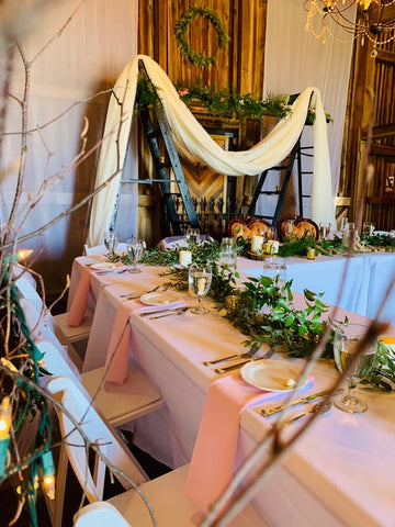 18 DIY IDEAS for WEDDING receptions AND SAVE BUDGET