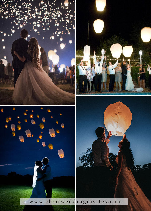 Rustic floating lanterns decorative elements for Your Wedding