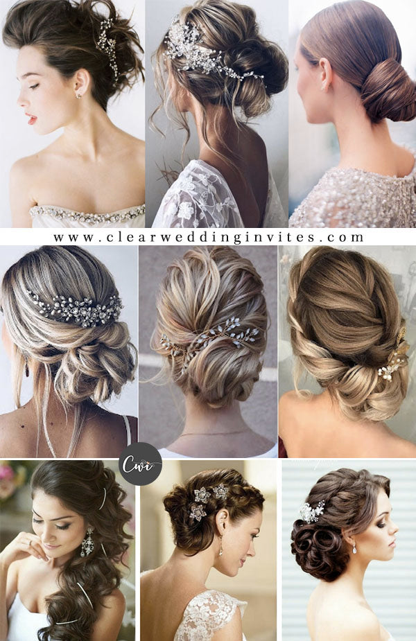 Long Length Gorgeous Bridal Hairstyles & Wedding Accessories for 2021