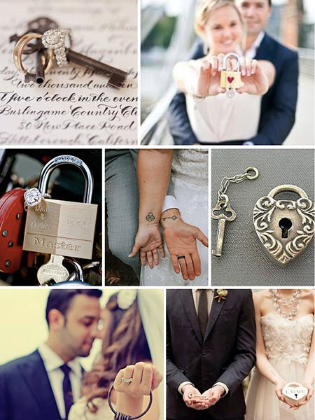 Budget-friendly Lock & Key Wedding Ideas to Fall in Love with