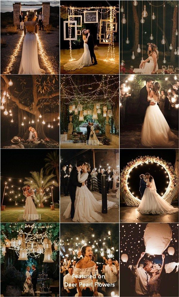 Rustic lights decorative elements for Your Wedding