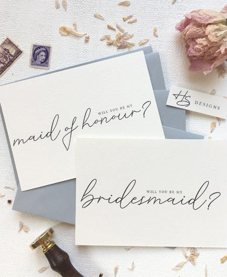 5 Creative Ways to Ask Your Besties to Be Your Bridesmaids