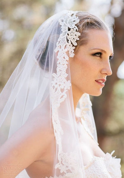 Popular Ways to Wear Your Bridal Veils Romantic Bridal Veils for Your Perfect Wedding Hairstyles