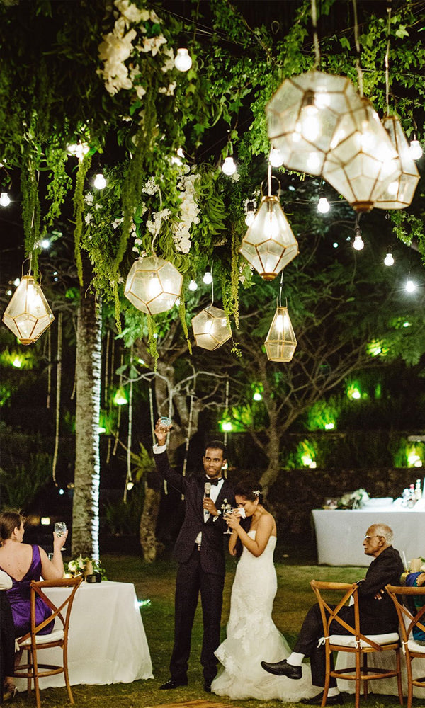 Hanging Lanterns Amazing Tented Wedding Decoration Ideas To Wow Your Guests