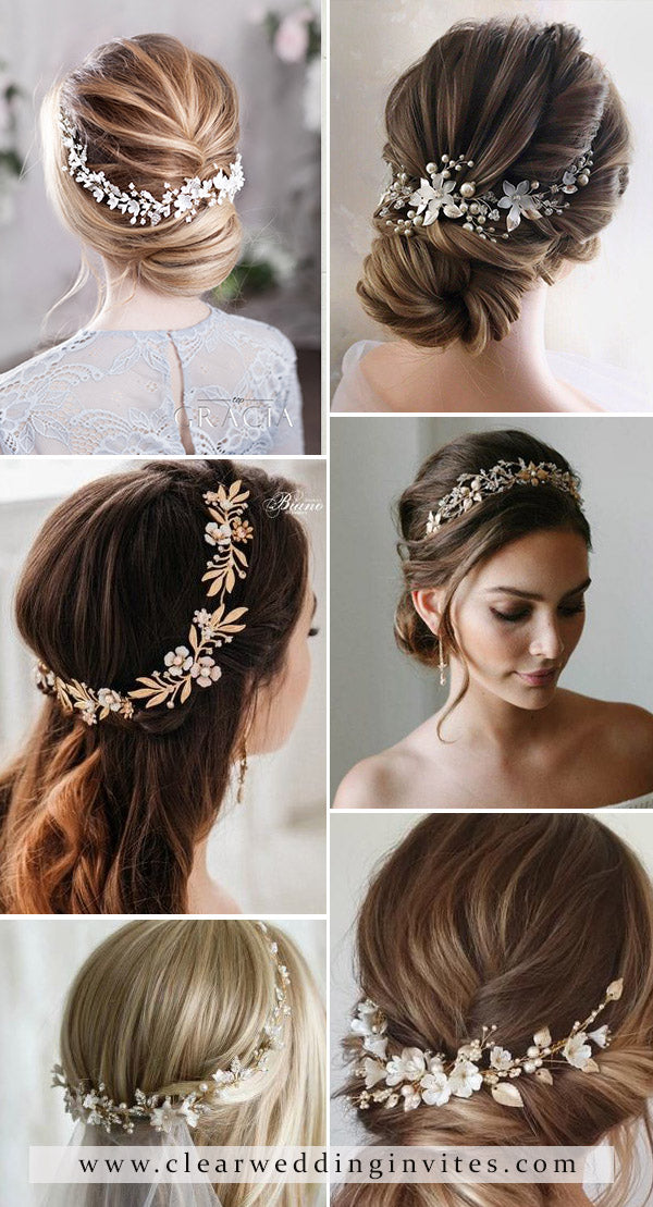 8 Bohemian Bridal Headpieces to Match Your Hairstyles