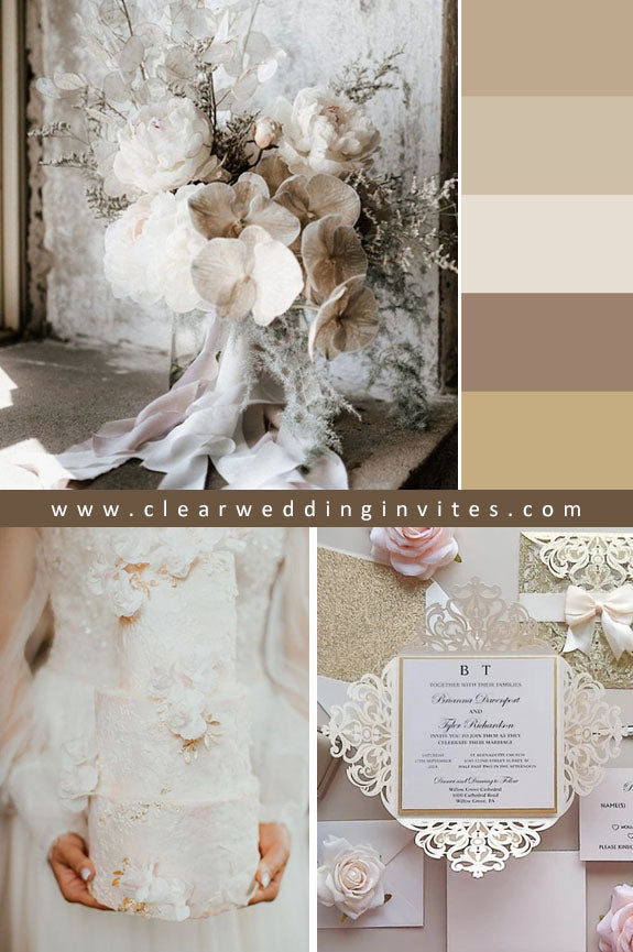 Neutral Ethereal Wedding Ideas to Make An Amazing Nuptial
