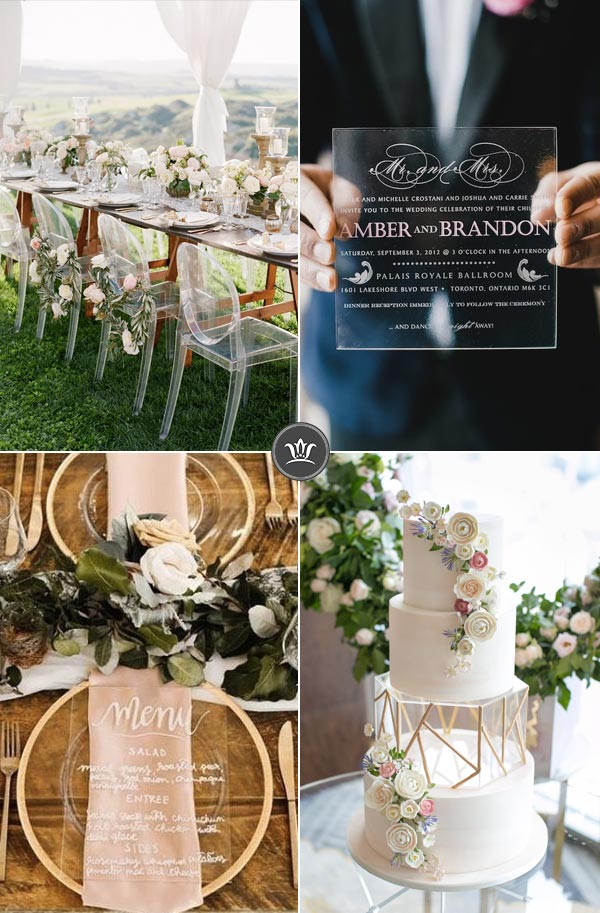 29 Stylish And Cool Modern Outdoor Wedding Ideas