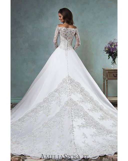 Fabulous Amelia Sposa Wedding Dresses that You Can't Say No
