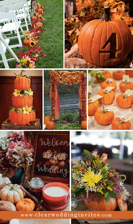 40 Beautiful Rust-toned Fall Wedding Ideas To Get Inspired