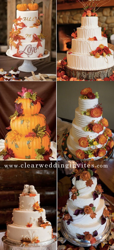 30+ Best Fall Wedding Cakes Ideas for 2022 Brides