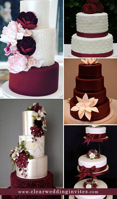 Best Ideas for You to Plan Perfect Burgundy Red Weddings