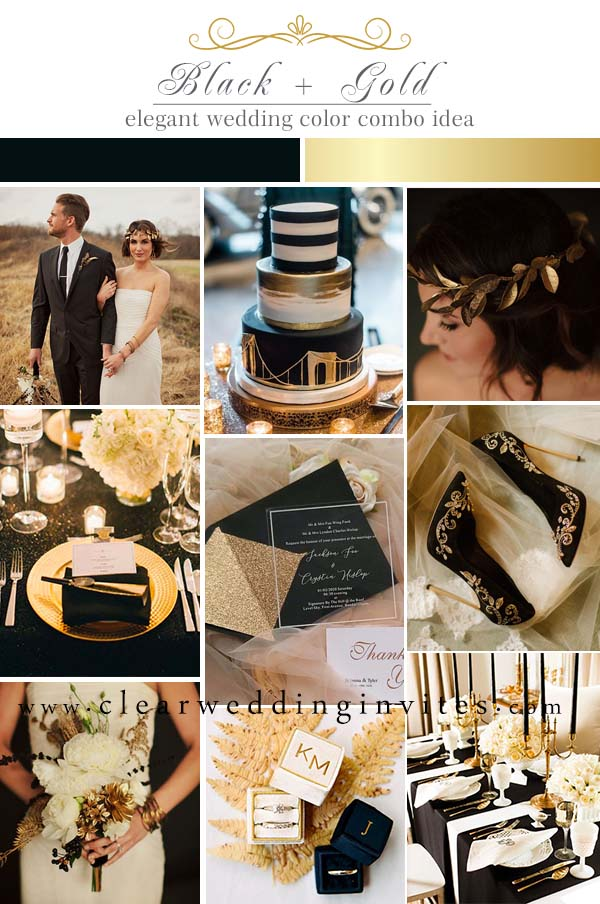 Black and Gold Timeless Color Palettes That Are Never Outdated