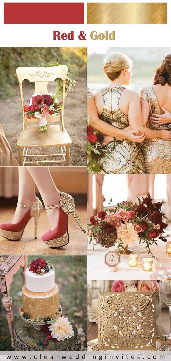 20 Gorgeous Glitters & Sequins Wedding Ideas to Inspire