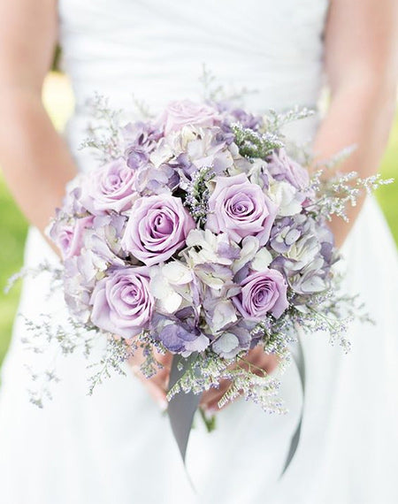 Bridal Bouquets in Lavender 12 Stunning Shades of Lavender Wedding Color Ideas for 2022