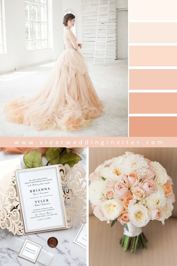 Pretty Peach Mint Green Ethereal Wedding Ideas to Make An Amazing Nuptial
