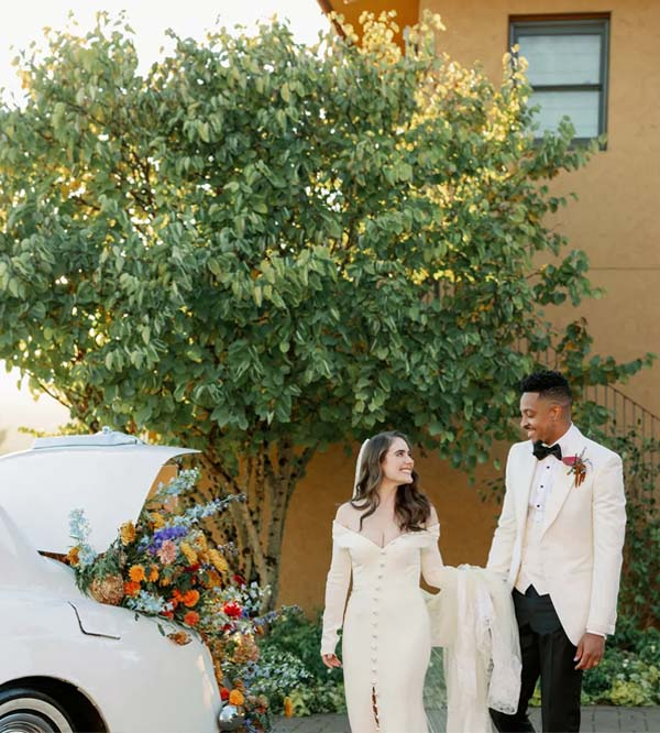 CJ McCollum and Elise Esposito's Wedding Was an Intimate Affair in Oregon Wine Country