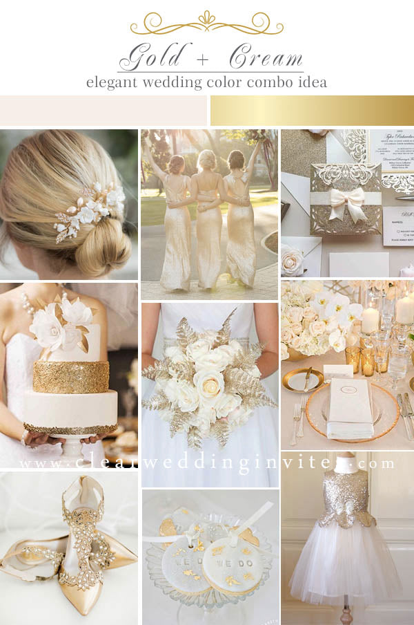 Cream and Gold Timeless Color Palettes That Are Never Outdated