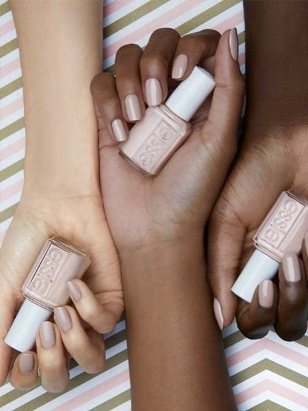 Determining your skin tone for nude nail polish