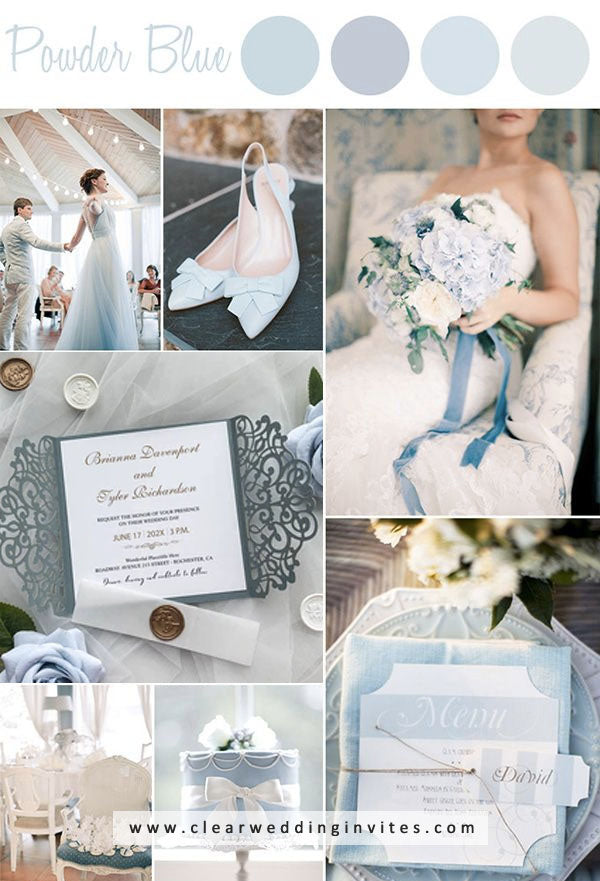 Dusty Blue and Nude WEDDING COLOR IDEAS FOR your wedding