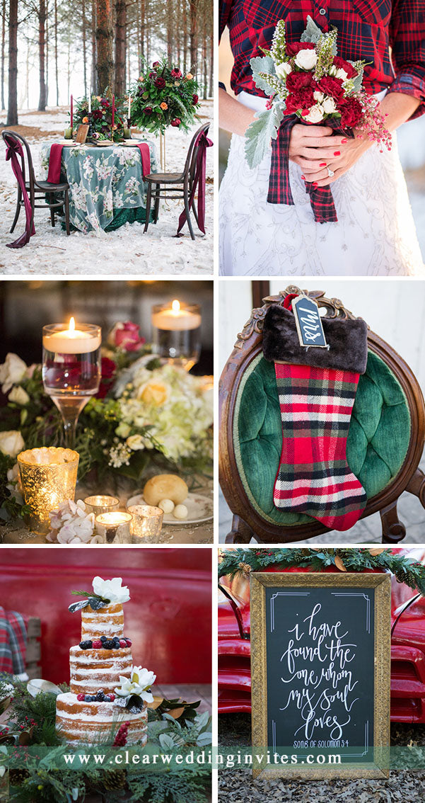 18 Extremely Gorgeous Christmas Wedding Ideas For 2021