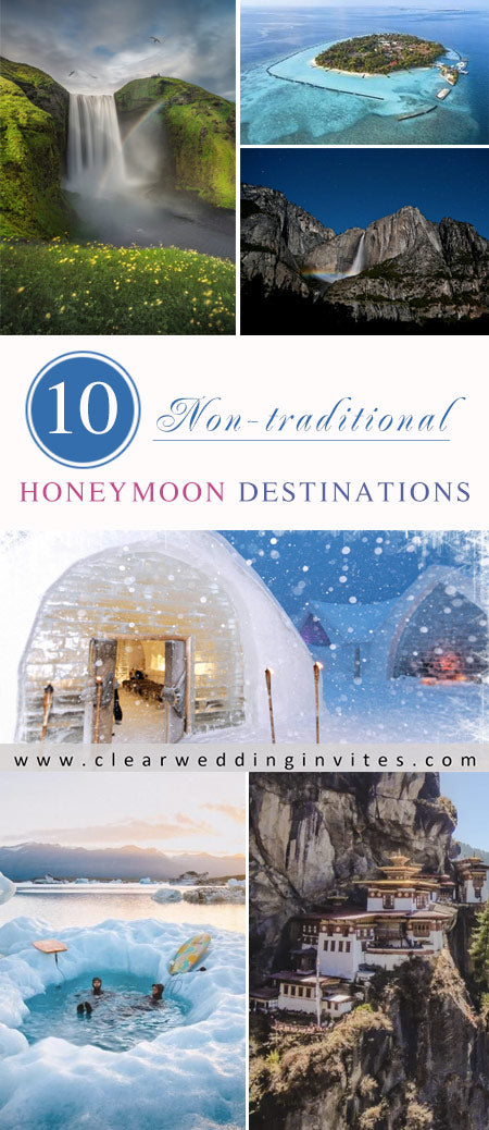 Fabulous Non-traditional Honeymoon Destinations for Couples