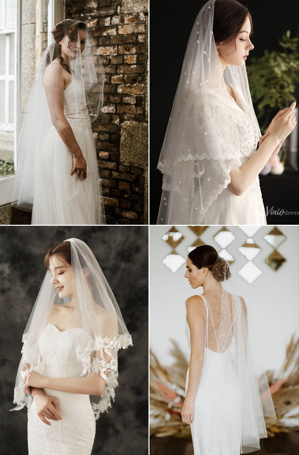 7 Elegant Bridal Veils for Your Perfect Wedding Hairstyles