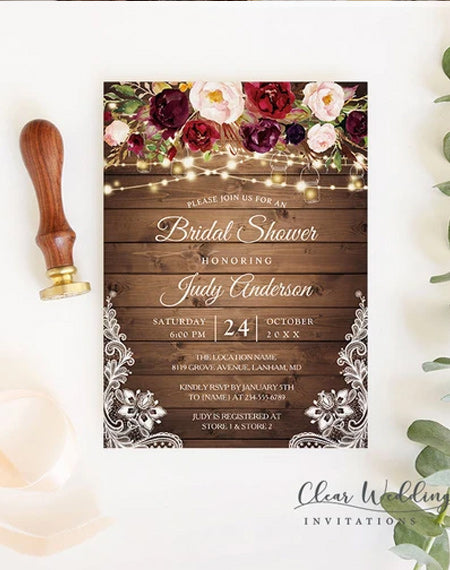 Frequently Asked Questions: Bridal Shower Invitation Wording Ideas