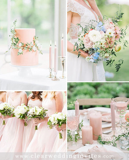 7 Intimate Garden Wedding Color Palettes to Steal