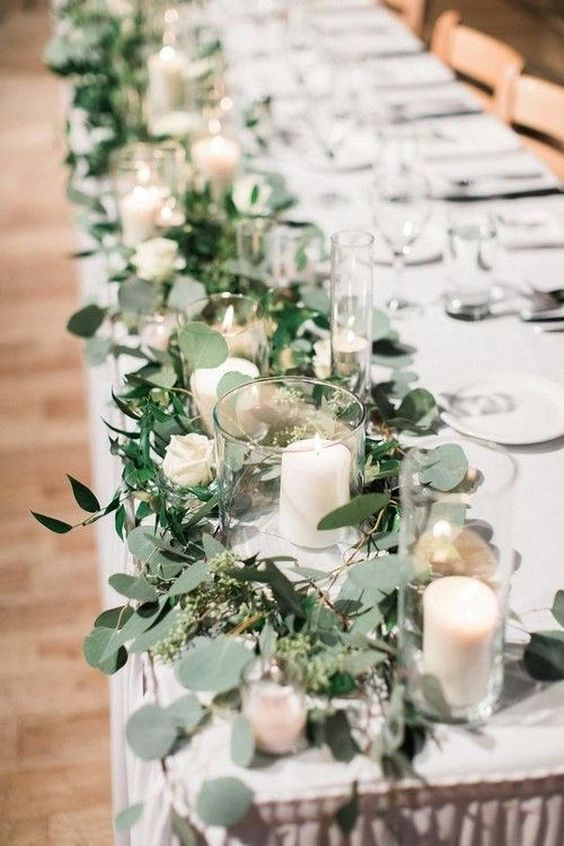 Greenery Wedding Colors for Spring