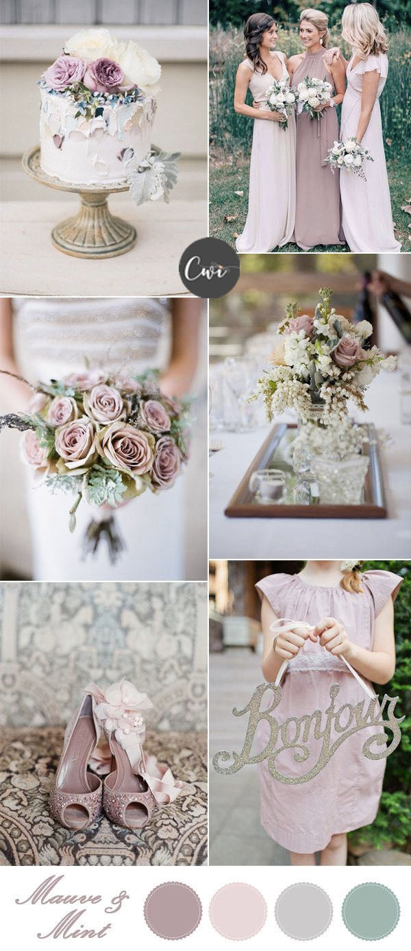 Mauve and Nude WEDDING COLOR IDEAS FOR your wedding