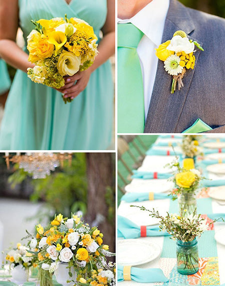 7 Mint Wedding Color Schemes for 2022 Spring and Summer