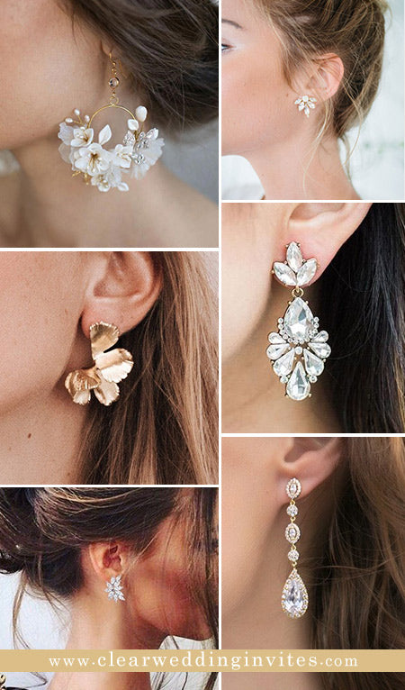 10 Delicate Bridal Earrings You Wanna Have