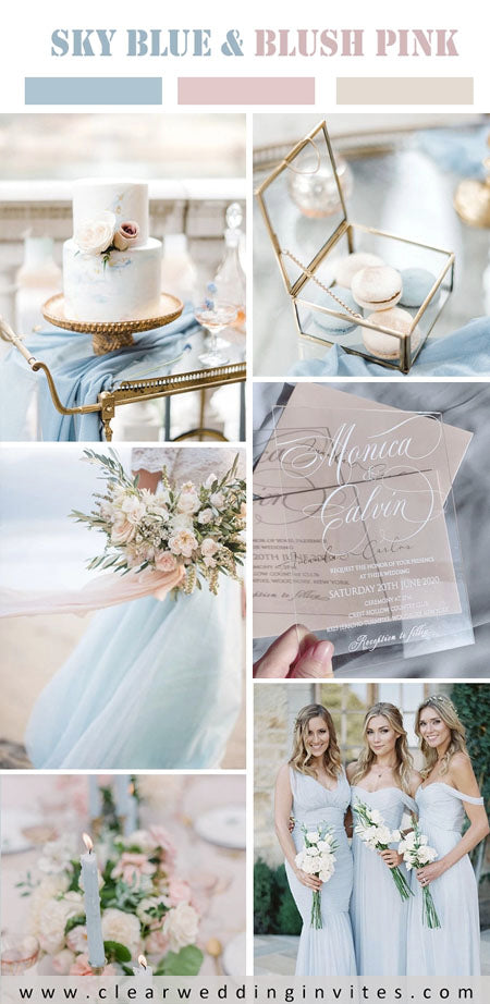 5 Swoon-worthy Wedding Color Combos With Blush Pink