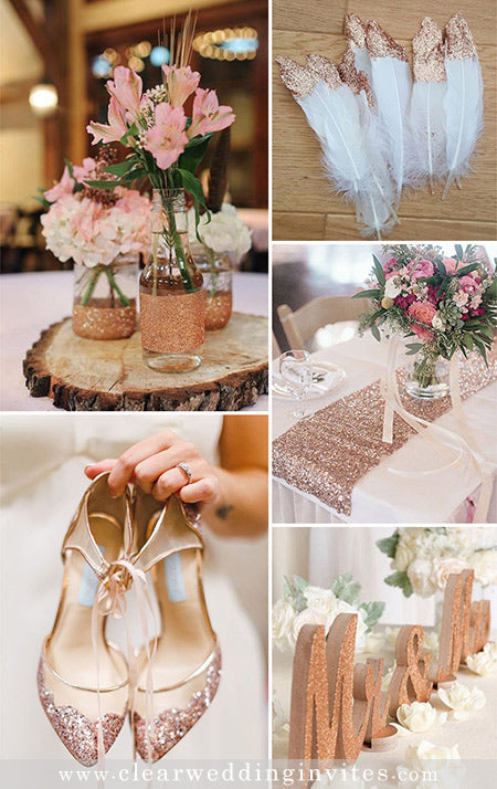 Stunning Rose Gold Wedding Color Palette Ideas We Obsessed