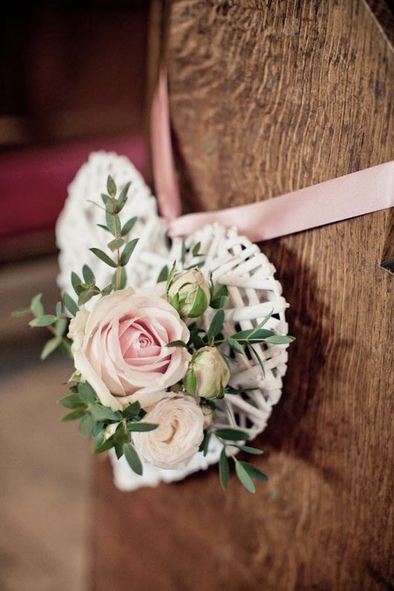Swoon-worthy DIY Hearts Chair Decoration for Your Wedding