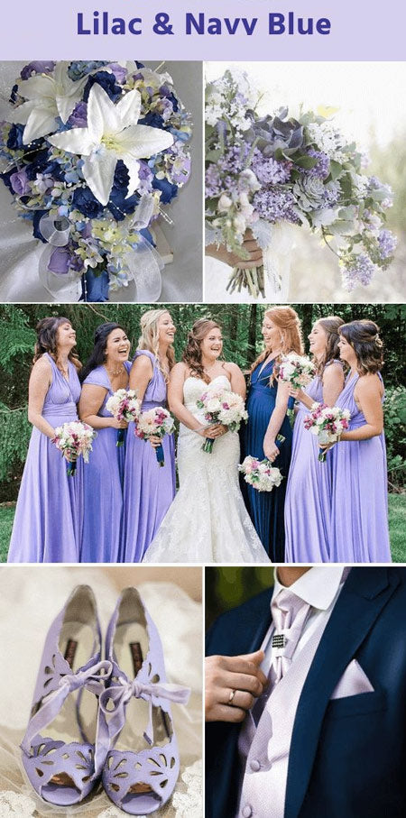 Top 10 Enchanting Lilac Color Scheme for Your Fall/Winter Weddings