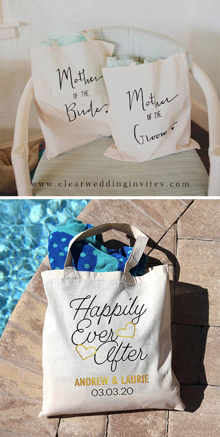 Tote Bag Picking Unique wedding gifts for parents