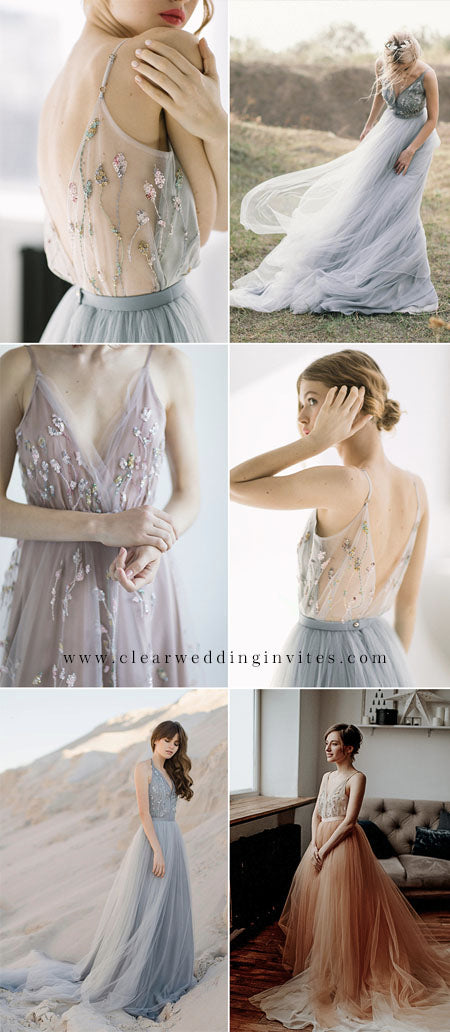 Ethereal Wedding Dress Ideas to Make An Amazing Nuptial