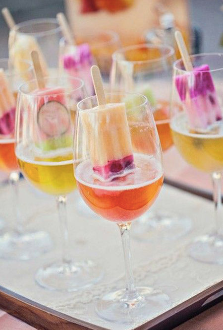 Vibrant Neon Color Signature Cocktail Ideas Make Your Wedding Special