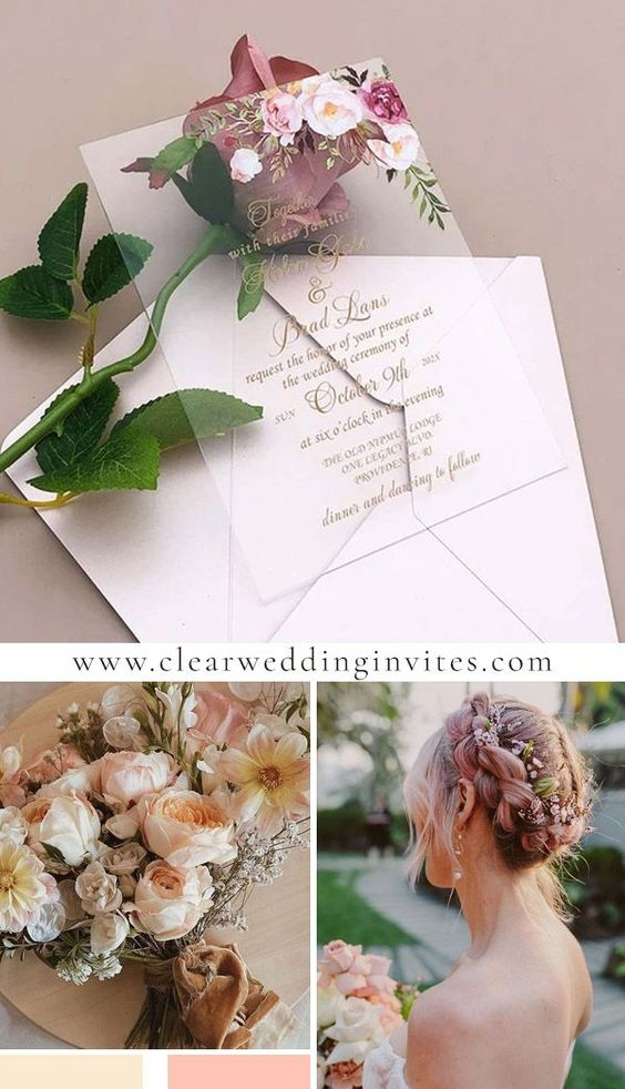 Vintage Wedding Invitations from Casual to Formal You'll Love