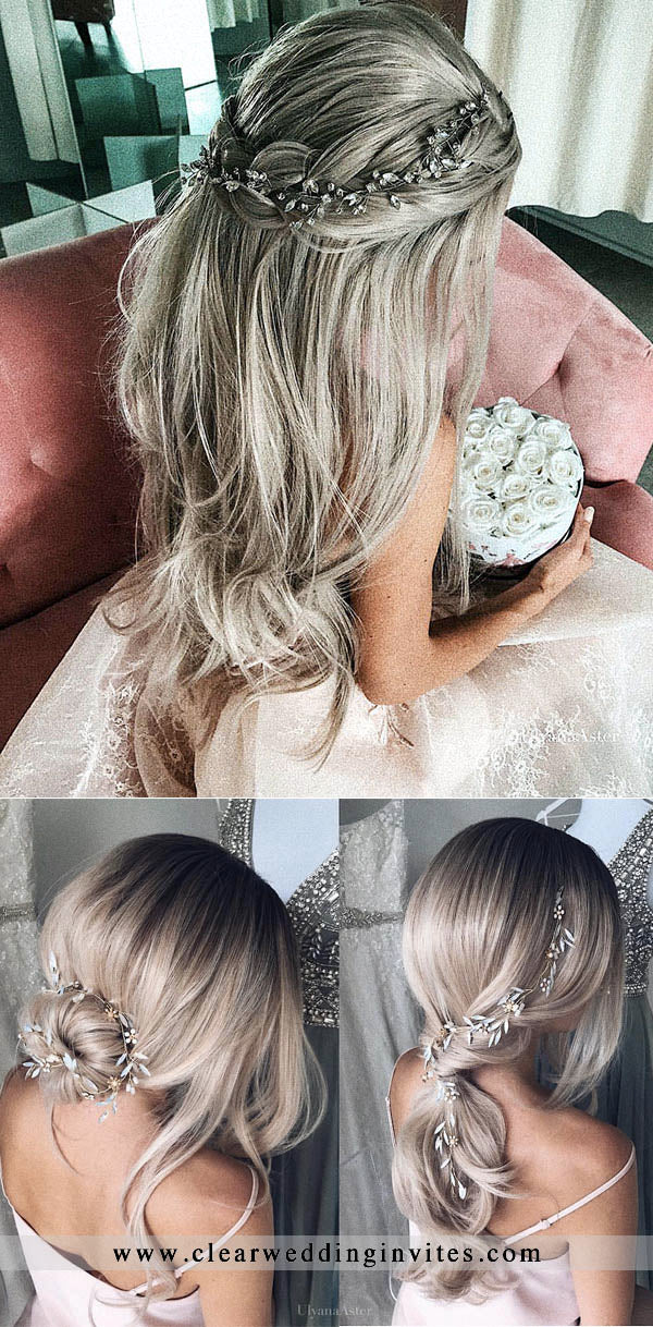 Wedding Hairstyles from Ulyana Aster to Get You Inspired