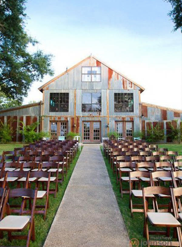 Outside Wedding Ceremony Ranch Wedding Venues Texas Hill Country