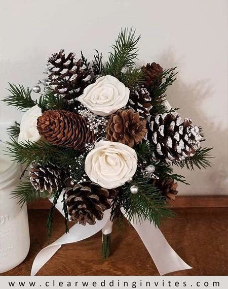 Whimsical Woods Winter Wedding Bouquet Ideas to Inspire You
