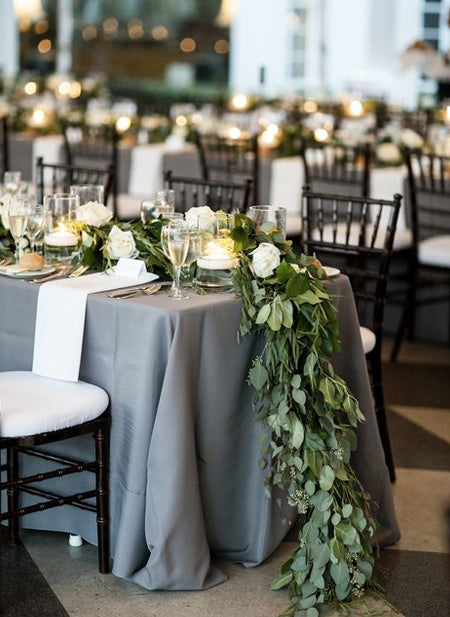 White-Rose-and-Gray-Table-Garland-ideas-_-wedding-table,-wedding-decorations,-wedding-centerpieces