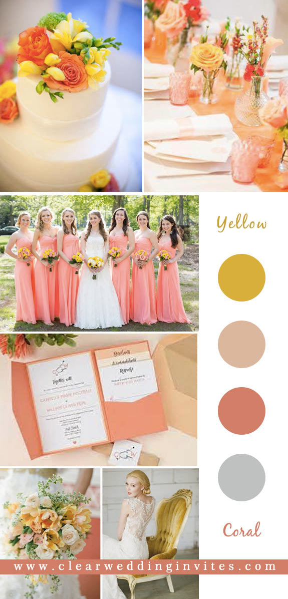 Fabulous Coral Wedding Colors for 2022 Wedding Trends